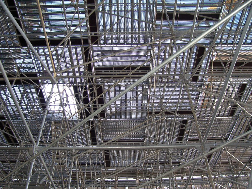 birdcage scaffolds for heigh level access  contact us