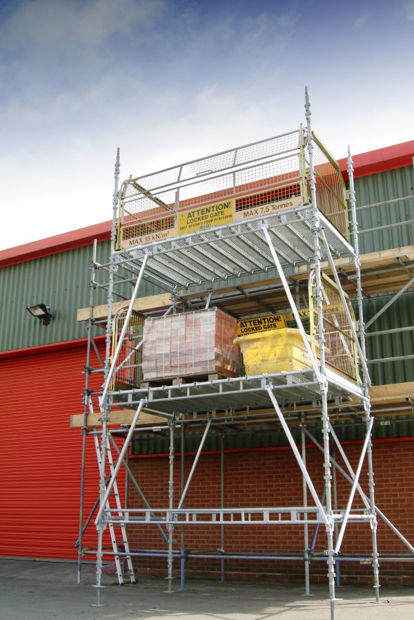 Suspended Scaffolding Universal : Haki loading towers