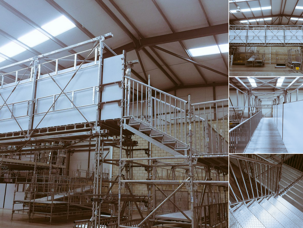 Suspended Scaffolding Universal : Find out why you should choose the haki bridge system hbs