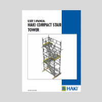 HAKI Compact Stair Tower - temporary access - user guide