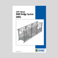 HAKI Bridge System - Temporary Footbridge - User Guide