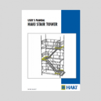 HAKI Stair Tower temporary access user guide
