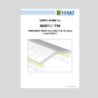 HAKITEC temporary roof hand built user guide