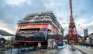 Fridtjof Nansen Ship - Scaffolding for Shipbuilding