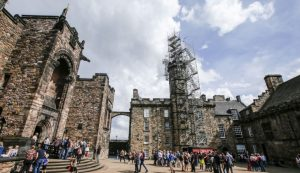 HAKI Stair Edinburgh Castle Lyndon Scaffolding