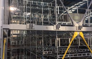 Scaffolding case study ⇒ HAKI used for Waterloo Station temporary works