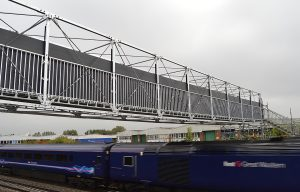 HAKI Bridge System - Rail Track Upgrade, Swindon, UK