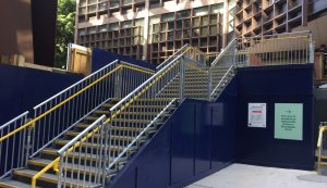 HAKI Public Access Stair - Doing temporary public access right