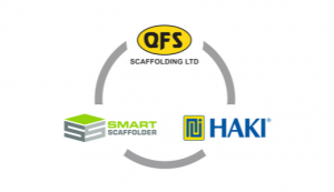 QFS Scaffolding, HAKI, and SMART Scaffolder join forces for London Build 2019