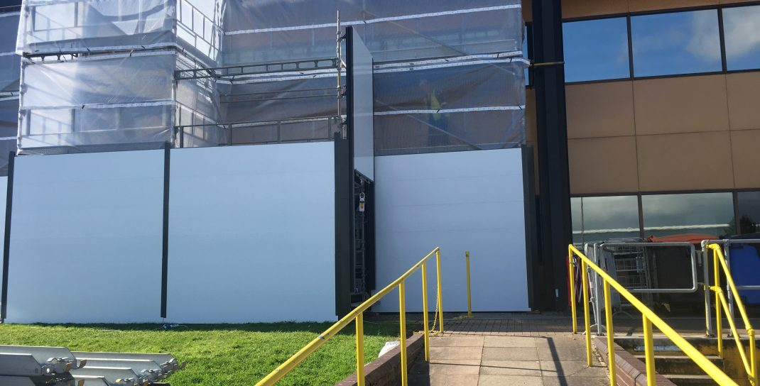 HAKI Cladding for site hoarding and enclosure