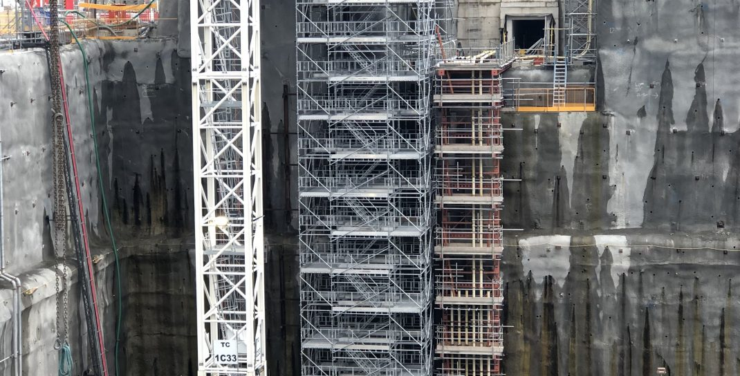 HAKI Stair Tower at Hinkley Point C