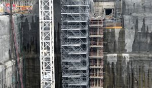HAKI scaffolding Hinkley Point C