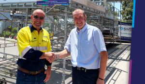 SMS Group Services and HAKI Scaffolding Partnership - Western Australia